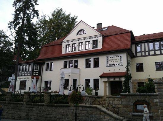 Wroclaw Silesia Tours - Day Tours: The Bukowy Park Hotel in Polanicia