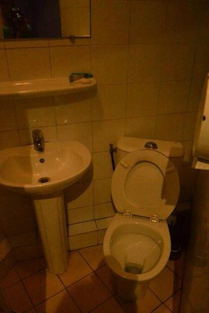 """Peace and Love Hostel: o """"grande"""" banheiro"""