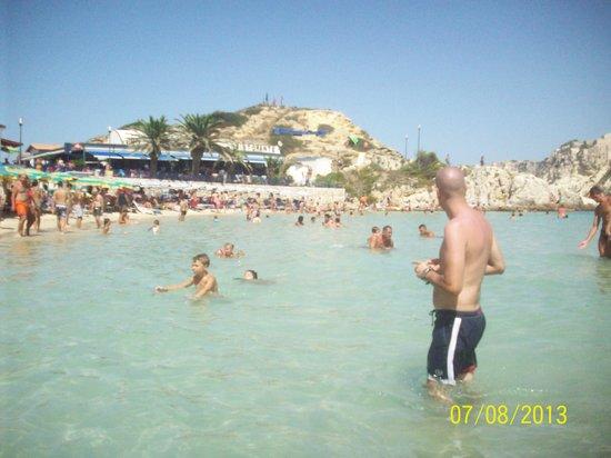 Escursione Isole Tremiti - LMA Navigazioni Srl : spiaggia