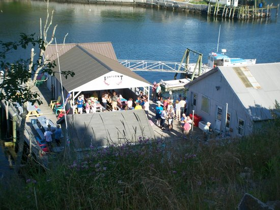 Frenchboro, ME: One of our yacht club events