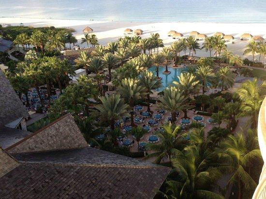 JW Marriott Marco Island Beach Resort : View from 10th Floor room 1031