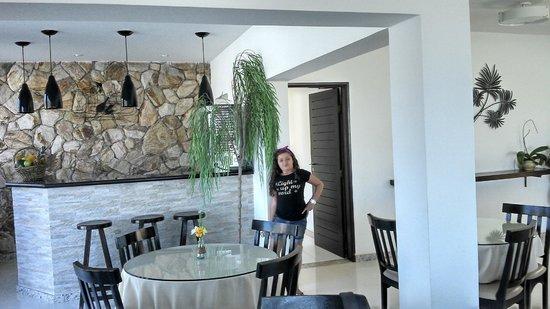 Pousada Canto da Baleia: Restaurante / Café da manha