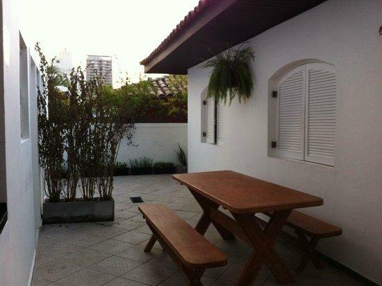 Namoa Hostel: Área de Café-da-manhã - Breakfast area