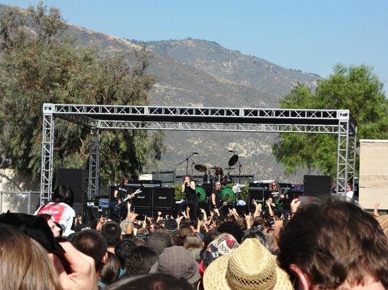 San Bernardino, Kalifornia: Secondary stage