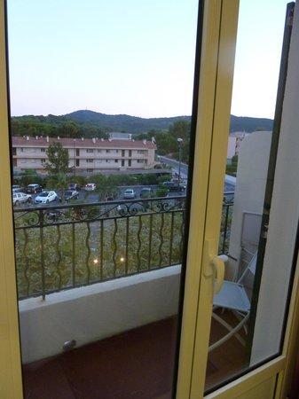 Hôtel de la Plage - HDLP : Balcon de la chambre 15