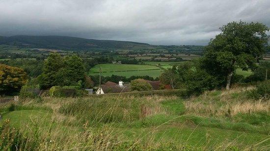 The Harp Inn: view from the Harp