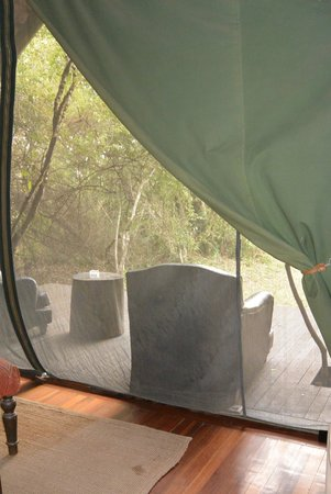 "andBeyond Bateleur Camp: view out our ""tent"""