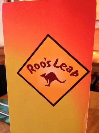 Roo's Leap: Menu