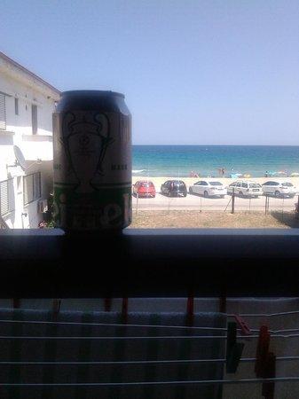 House Zogia: Balcony view