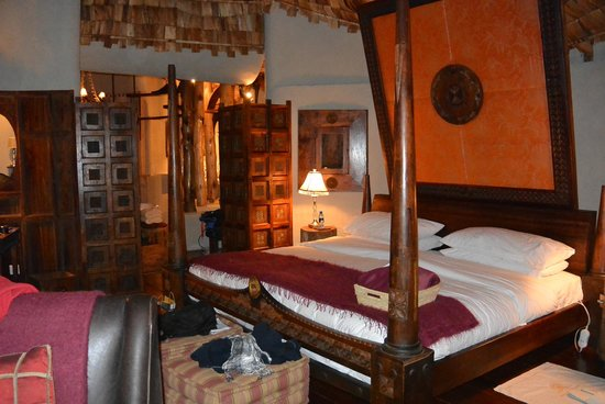 andBeyond Ngorongoro Crater Lodge: Our room