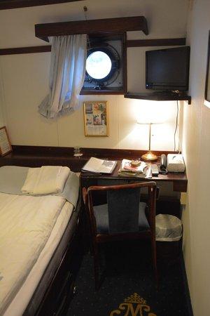 Malardrottningen Yacht Hotel and Restaurant : Chambre
