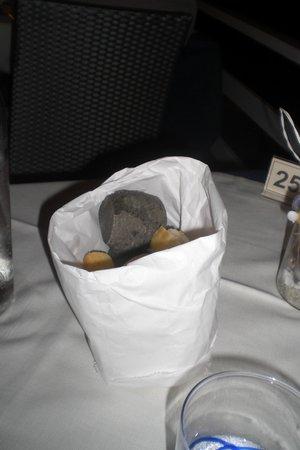 Terrazzamare restaurant : Cestino di pane