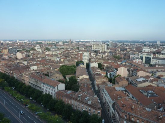Adagio Toulouse Parthenon: Vue sur le centre de Toulouse