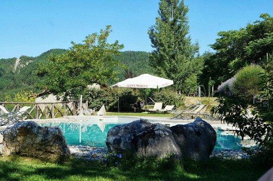 I Tre Baroni: The pool