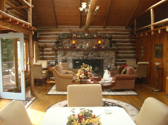 The Chalet of Canandaigua: Fireplace