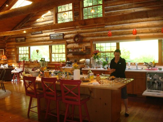 The Chalet of Canandaigua: Patty in the Kitchen
