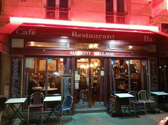 au petit village paris restaurant reviews phone number photos tripadvisor. Black Bedroom Furniture Sets. Home Design Ideas