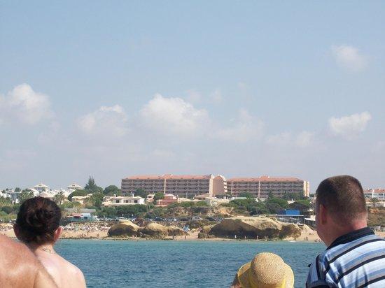 Vila Gale Atlantico : resort from the ocean