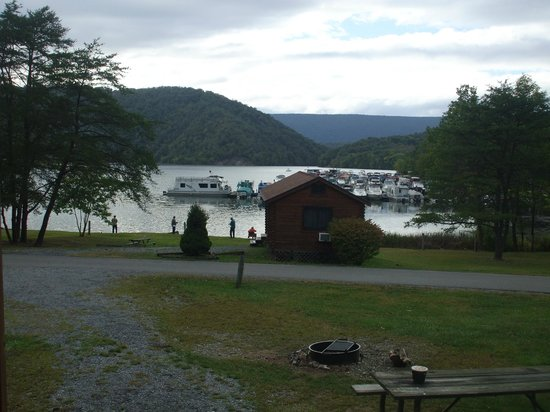 Lake Raystown Resort, an RVC Outdoor Destination: View from our porch