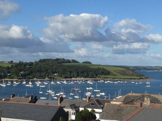 The Guest House: sweeping views across Falmouth