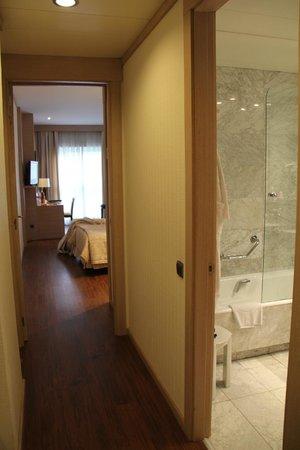 SH Valencia Palace Hotel: pokój