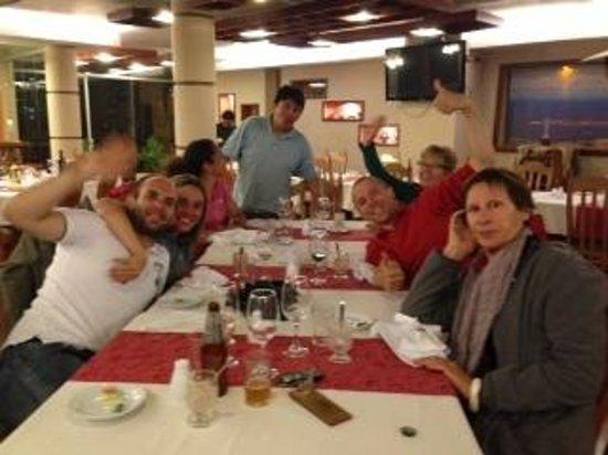 LLUVIA Restaurant : Felices!!!