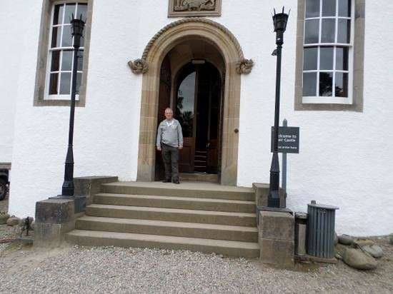 Blair Castle Caravan Park : Castle Main Entrance.