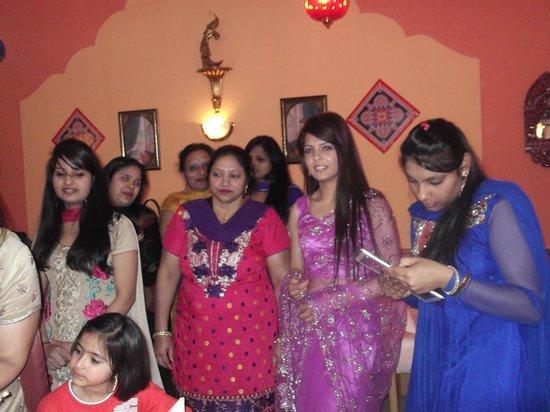 Maharaja: festa di complianno