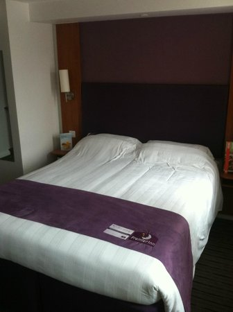 Premier Inn Norwich Nelson City Centre Hotel: The usual comfy bed
