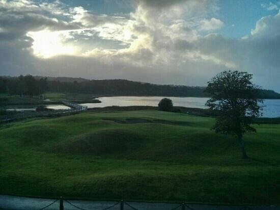 Lough Erne Resort : view from our room