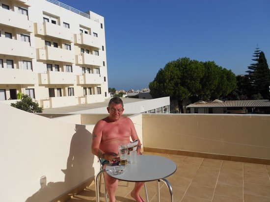 Albufeira Sol Suite Hotel & Spa: The Large 1st Floor Balcony