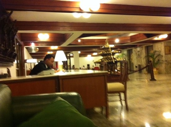 Hotel Annapurna: اللوبي