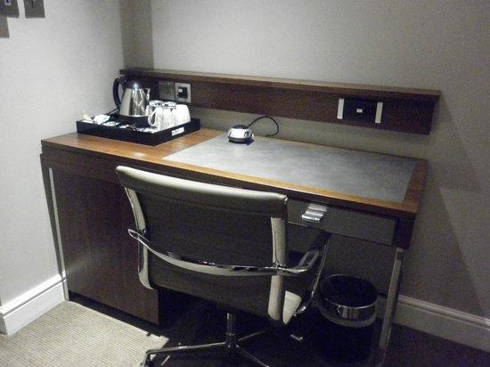 The Belgrave: Detalle escritorio