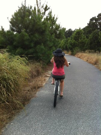 Cape Henlopen State Park Campground: Biking my heart out