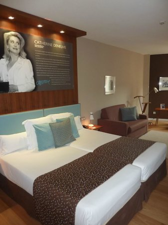 Hotel Astoria 7 : Chambre