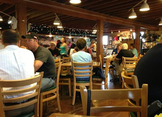 Maltby Cafe: Very casual and bustling atmosphere