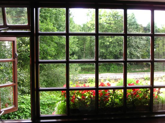 Woodside Lodge: My room's lovely window!