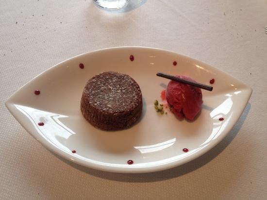 Chateau Sainte Sabine : moelleux au chocolat