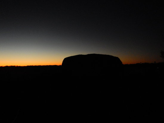 Uluru: dawn