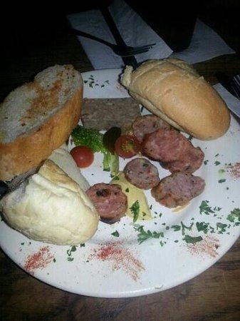 Napoleon House Bar & Cafe: charcuteri