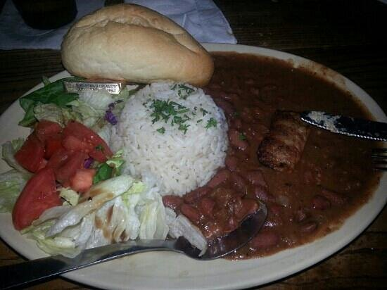 Napoleon House Bar & Cafe: Red Beans and Rice