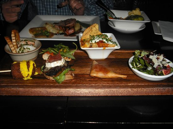 The Ross: Tapas board