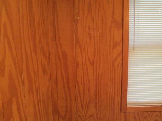 Americas Best Value Inn & Cottages : Interior Walls