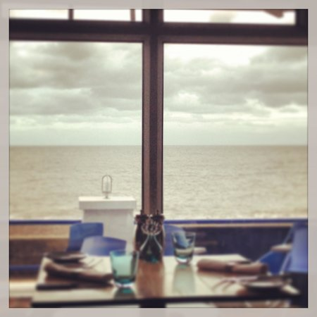 The Brudenell Hotel: Restaurant sea view