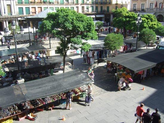 Infanta Isabel Hotel: From room market day