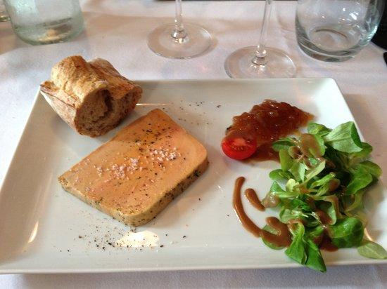 La Brasserie du Port : Great Foie Gras!