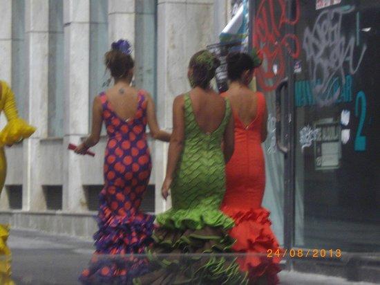 Paseo de Almeria : Feria: Fiesta de la Virgen del Mar
