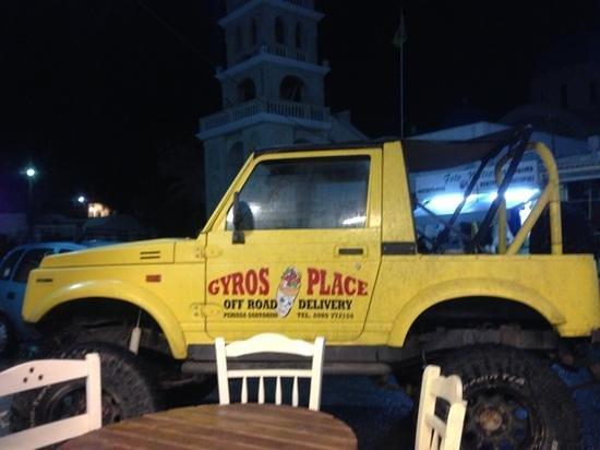 Gyros Place: Consegna a domicilio
