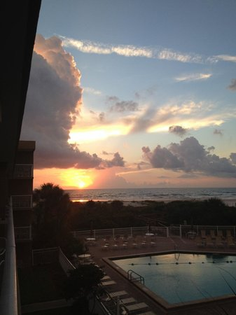 The Beach Club at St Augustine : Beautiful Sunrise
