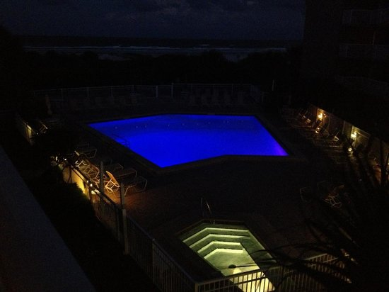 The Beach Club at St Augustine: Poll and Spa at night